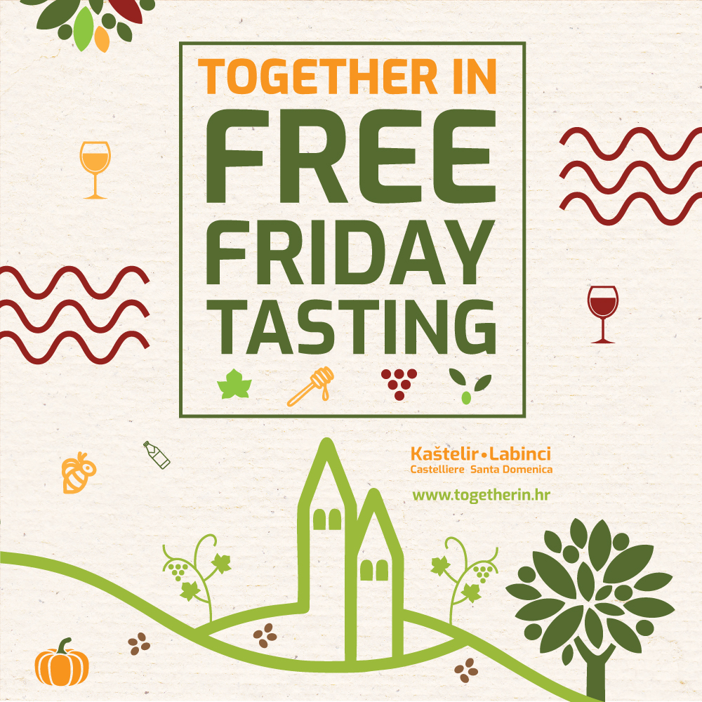 Together in FREE FRIDAY TASTING!