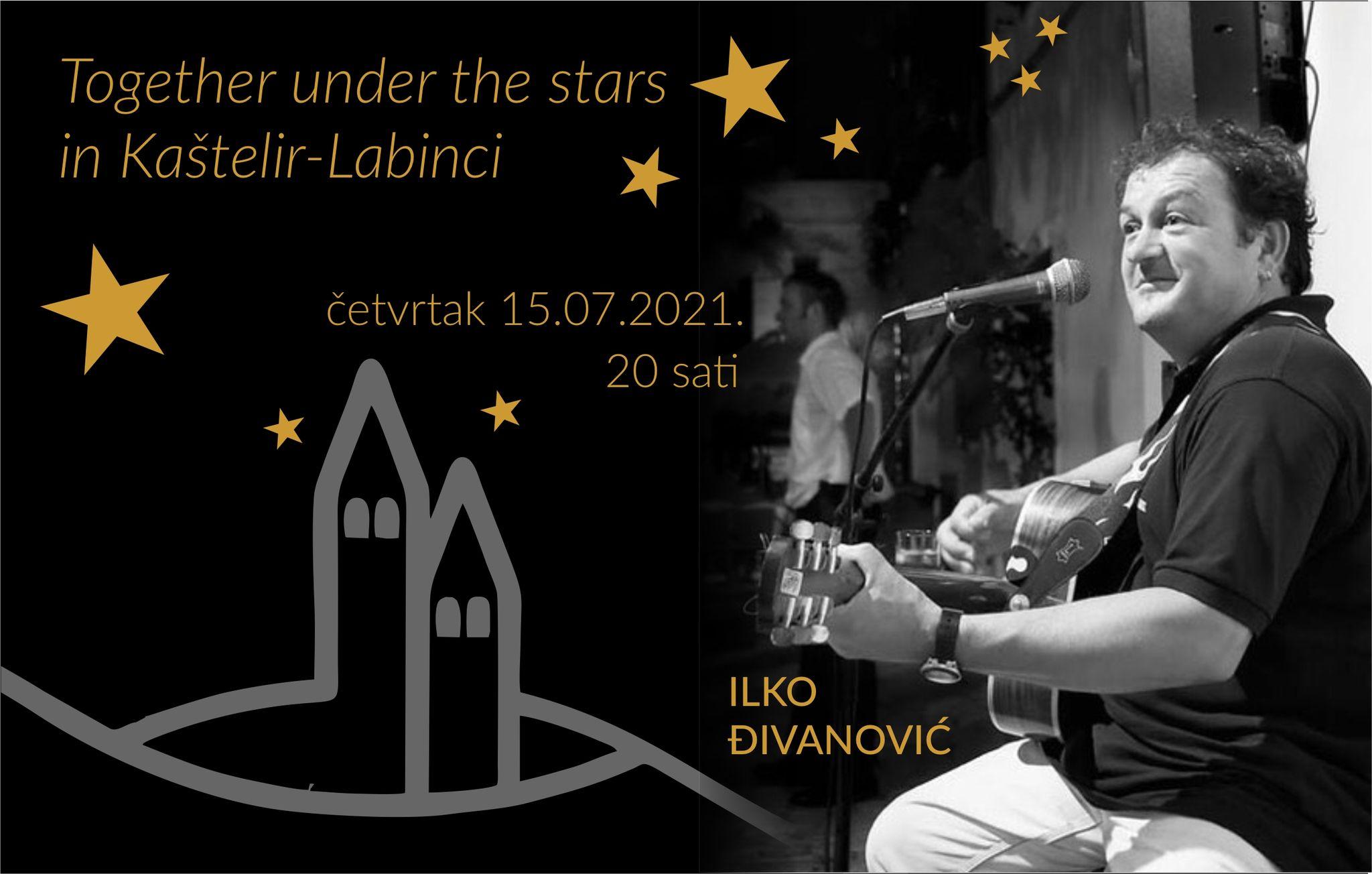 Together under the stars in Kaštelir-Labinci